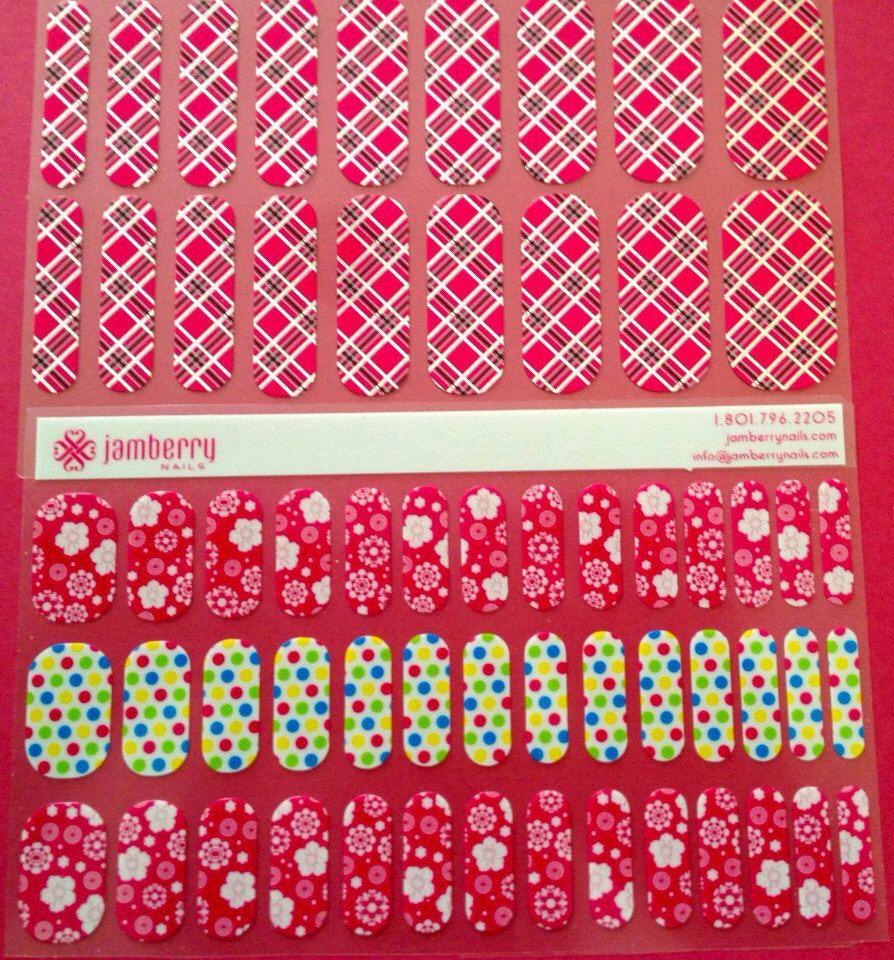 Jamberry Nails Disorganized Harmony